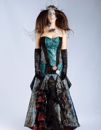 Steampunk Ball Gown by Stephanie Quinn